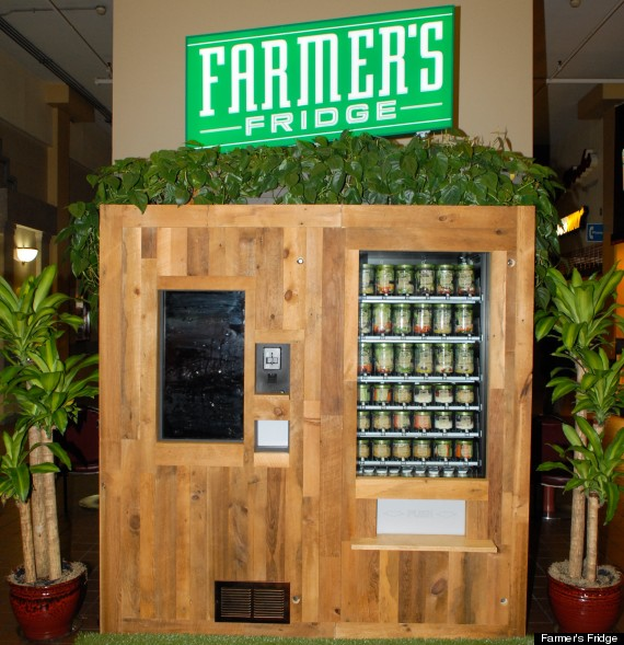 salad vending machine