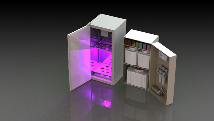 Early render of the ACE Unit.  Is this what the future of food looks like?
