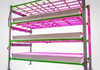 One sample growing system from Indoor Harvest