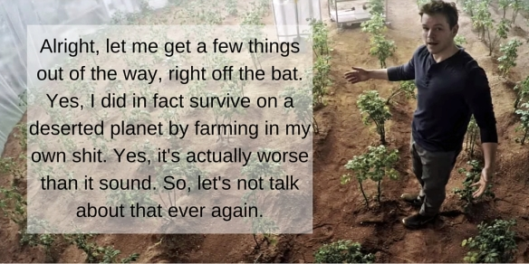 Farming Quotes Adorable 5 Best Farming Quotes From The Martian  The Urban Vertical