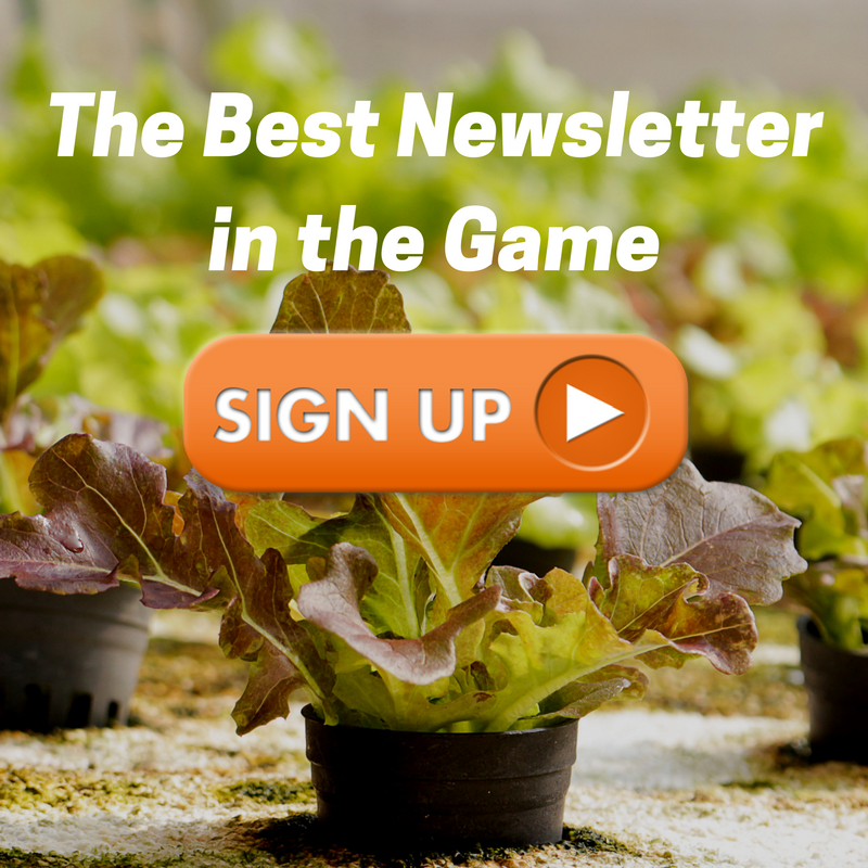 vertical farming newsletter signup